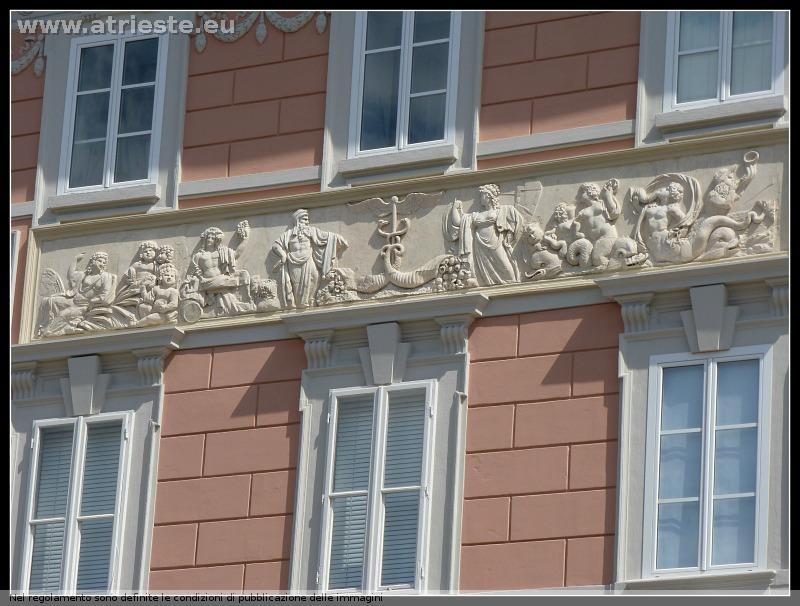 Neoclassico triestino architetto antonio buttazzoni for Case neoclassiche